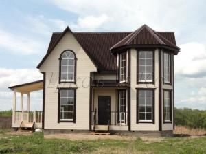 Продается новый дом с пропиской, в живописном месте